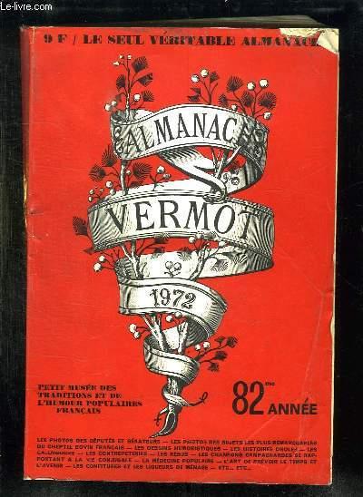 ALMANACH VERMOT 1972.
