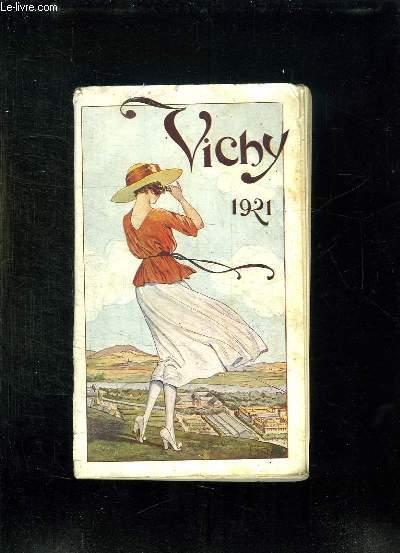 VICHY THERMAL ET TOURISTIQUE. SAISON 1924. 40em EDITION.
