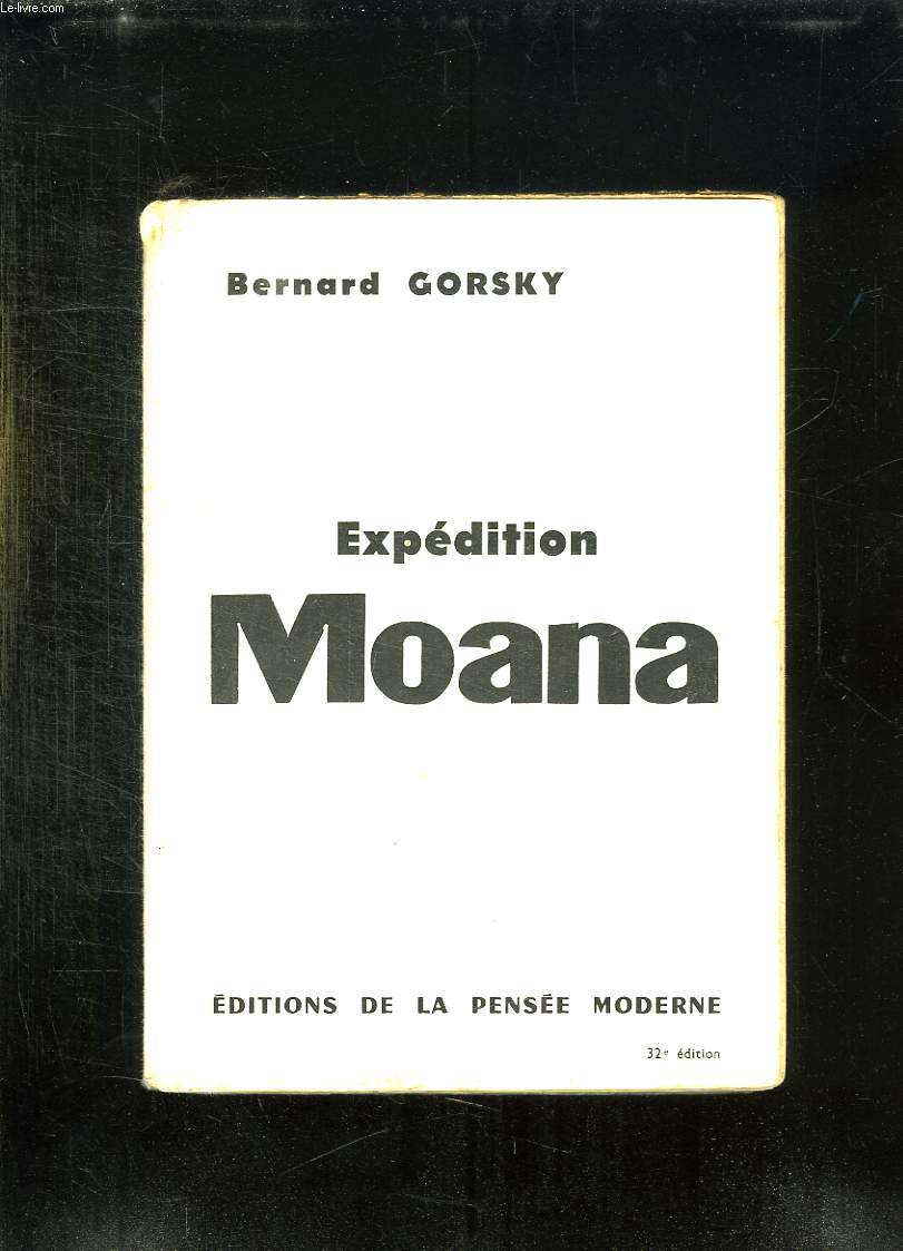 EXPEDITION MOANA.