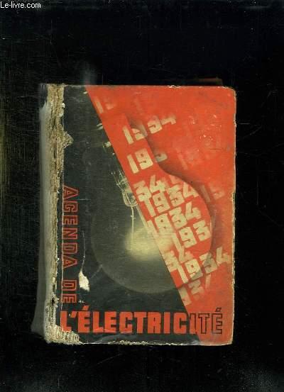 AGENDA DE L ELECTRICITE.