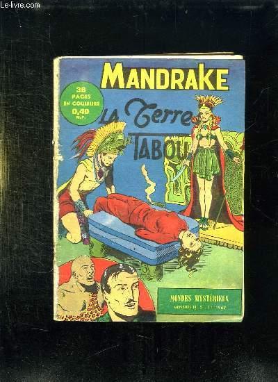 MANDRAKE N° 5. LA TERRE TABOU.