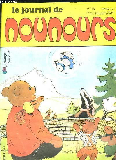 LE JOURNAL DE NOUNOURS N° 170.
