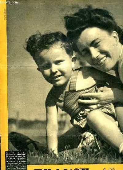 FRANCE 1947 LE MAGAZINE MODERNE DE LA FAMILLE N° 12 DU 6 JUILLET. SOMMAIRE: CONNAITRA T ON JAMAIS LA VERITE SUR LES 17 EMPOISONEMENTS, UN CULTIVATEUR ASPHYXIE UN NOUVEAU NE AVEC DES CHIFFONS ENFLAMMES, PAULETTE SUPPRIME SON MARI GRACE A LA MORT AU RATS...
