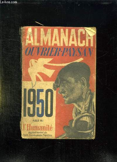 ALMANACH OUVRIER PAYSAN. 1950.