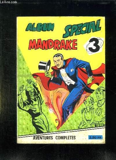 ALBUM SPECIAL MANDRAKE N° 3. DU N° 53 AU N° 55.