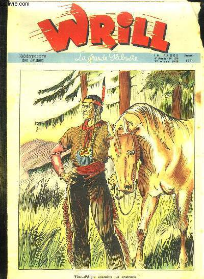 WRILL N° 194 DU 17 MARS 1949. TETE D AIGLE EXAMINA LES ENVIRONS...