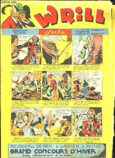 WRILL N° 179 DU 2 DECEMBRE 1948. LEILA.