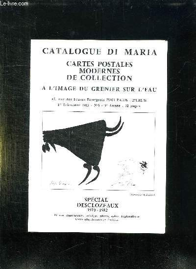 CATALOGUE DI MARIA. CARTES POSTALES MODERNES DE COLLECTION. N° 5.