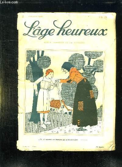 L AGE HEUREUX N° 3 DU 6 FEVRIER 1930.