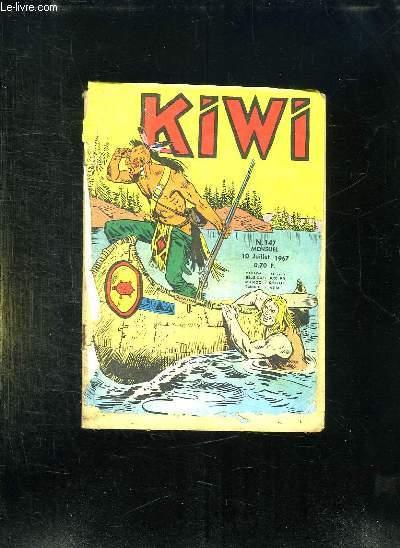 KIWI N° 147 DU 10 JUILLET 1967.