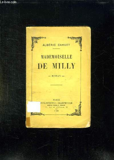 MADEMOISELLE DE MILLY.