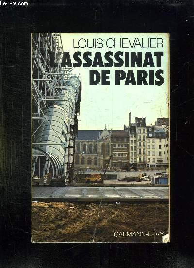 L ASSASSINAT DE PARIS.