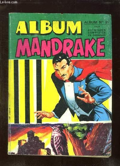 ALBUM MANDRAKE N° 51. N° 419 - 420.