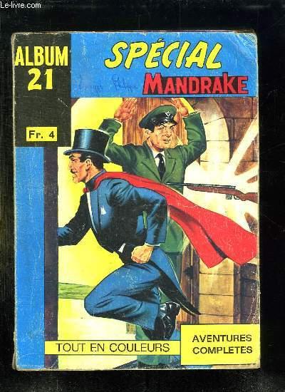 SPECIAL MANDRAKE ALBUM N° 21. N° 95 - 96 - 97.