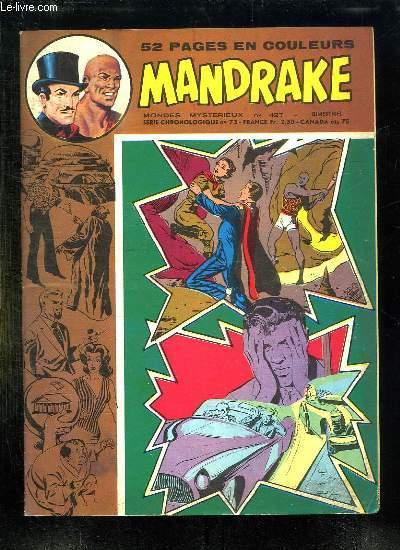 MANDRAKE N° 427. LE PAYS DE L OUBLI.