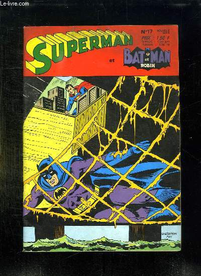 SUPERMAN N° 17 ET BATMAN ET ROBIN.