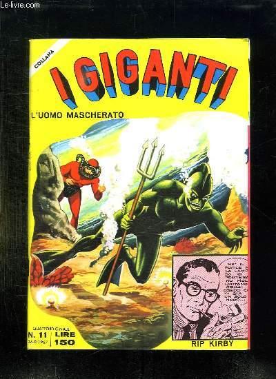 IGIGANTI N° 11. TEXTE EN ITALIEN.