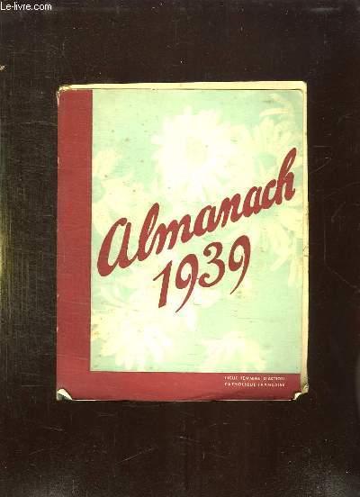 ALMANACH FEMMES 1939.