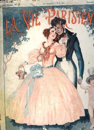 LA VIE PARISIENNE N° 19 DU SAMEDI 12 MAI 1928. LA CUEILLETTE DES FRAISES.