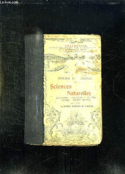 ZOOLOGIE GEOLOGIE CLASSES DE 5e. PROGRAMME 1942. EDITION TRANSITOIRE 1942 - 1943.