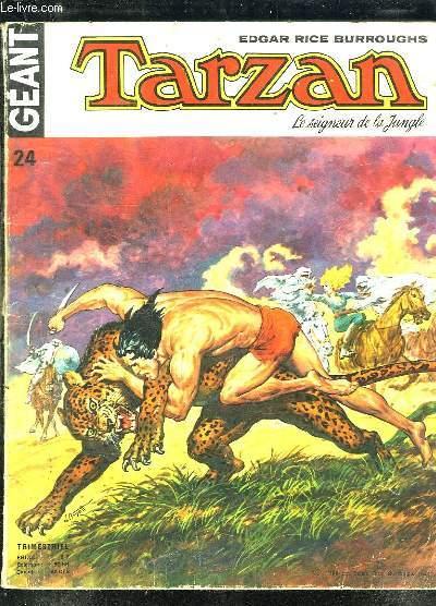 TARZAN N° 24. LE SEIGNEUR DE LA JUNGLE.