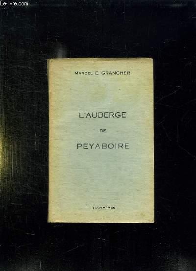L AUBERGE DE PEYABOIRE.