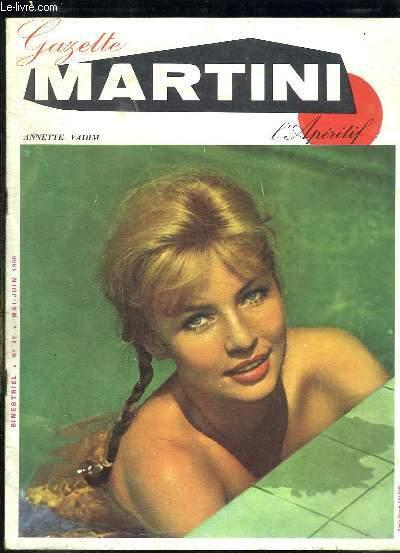 MARTINI N° 42. MAI JUIN 1960. ANNETTE VADIM.