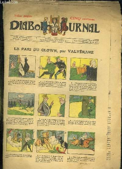DIABOLO JOURNAL N° 35 DU DIMANCHE 20 DECEMBRE 1914.