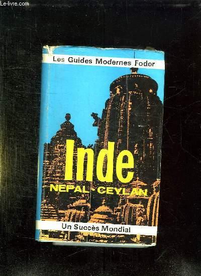 LES MODERNES FODOR. INDE NEPAL CEYLAN.