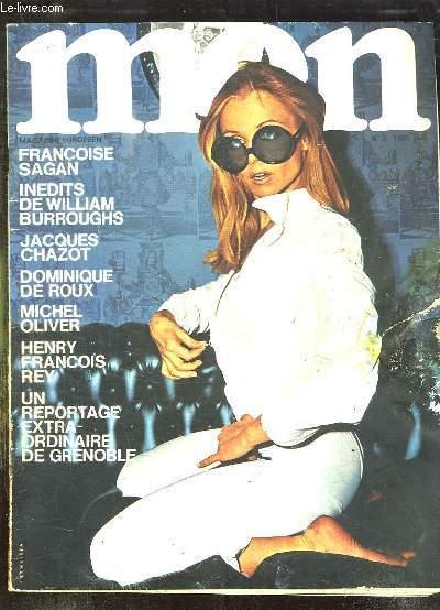 MEN N° 3 1968. REVUE POUR ADULTES. SOMMAIRE: DE LA DEBAUCHE, LES VESPALES, LA CUISINE DITE APHRODISIAQUE, 5 FILLES SANS SUITE...