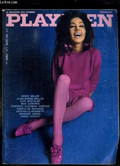 PLAYMEN N° 1 MARS 1968. REVUE POUR ADULTES. SOMMAIRE: L ENDROIT DES FEMMES, LA SUEDOISE DE MINUIT, LES FUMERIES, UNE FILLE ROUMAINE...