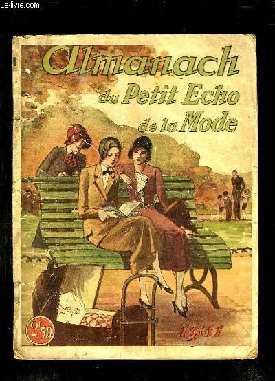 ALMANACH DU PETIT ECHO DE LA MODE 1931.