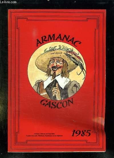 ARMANAC GASCON 1985.