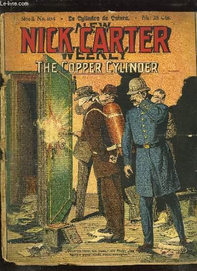 NICK CARTER N° 104 SERIE II. LE CYLINDRE DE CUIVRE.