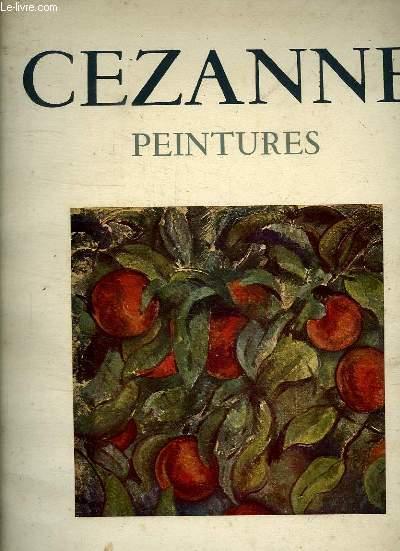 PEINTURES DE CEZANNE.
