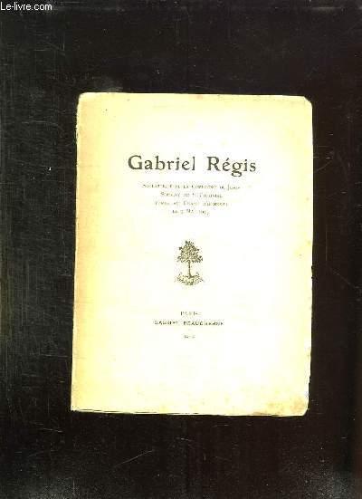 GABRIEL REGIS.