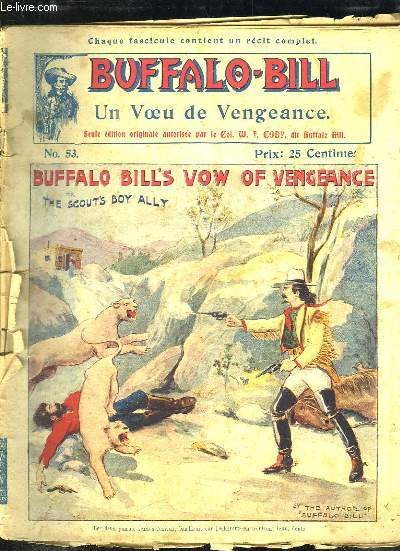 BUFFALO BILL N° 53 UN VOEU DE VENGEANCE.