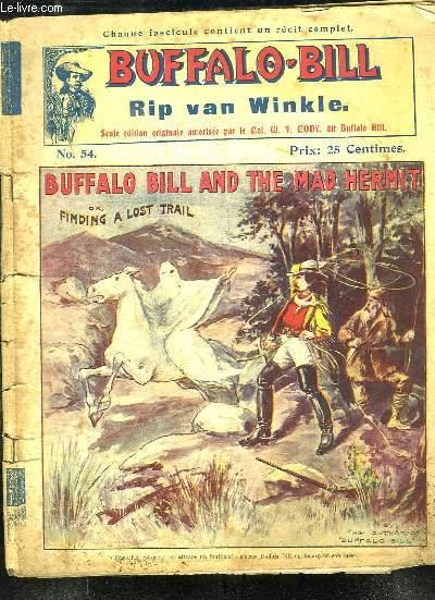 BUFFALO BILL N° 54 RIP VAN WINKLE.