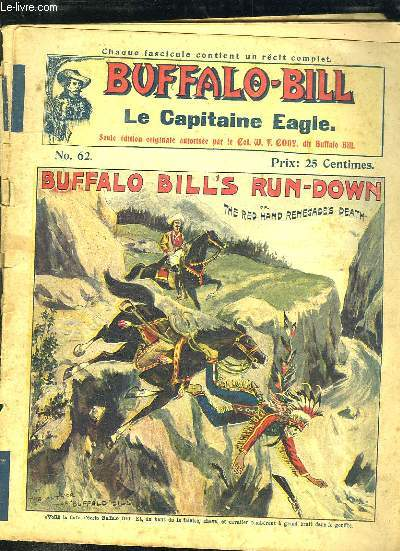 BUFFALO BILL N° 62 LE CAPITAINE EAGLE.