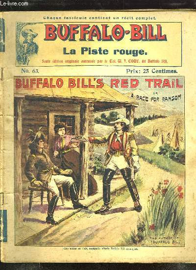 BUFFALO BILL N° 63 LA PISTE ROUGE.
