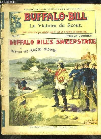 BUFFALO BILL N° 71. LA VICTOIRE DU SCOUT.