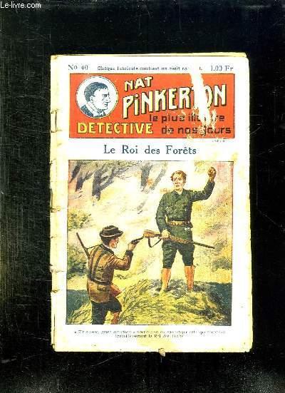 NAT PINKERTON N° 40 LE ROI DES FORETS.