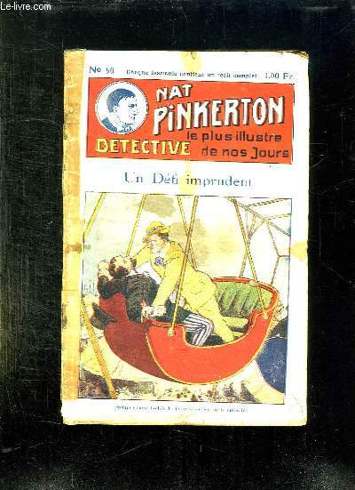 NAT PINKERTON N° 90 UN DEFI IMPRUDENT.