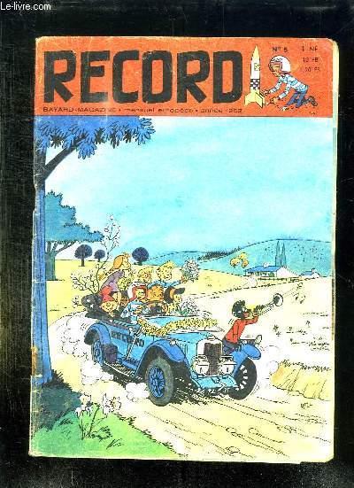 RECORD N° 5 1962 .  PIERRE SATRE OU MONSIEUR CARAVELLE, LES PETITS RATS DE L OPERA, LA BASILIQUE DE SAINT DENIS, TOURCOING CITE PILOTE DE LA NATION...
