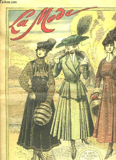 LA MODE N° 51 DU 19 DECEMBRE 1915.