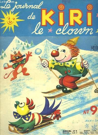 LE JOURNAL DE KIRI LE CLOWN N° 9.