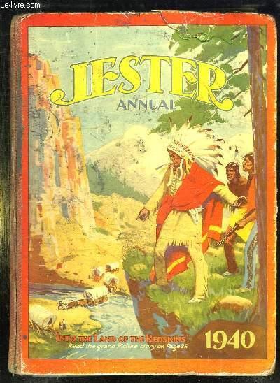 JESTER ANNUAL. 1940. TEXTE EN ANGLAIS