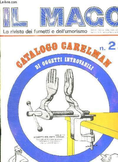 IL MAGO N° 23. CATALOGO CARELMAN. DI OGGETTI INTROVABILI. TEXTE EN ITALIEN.
