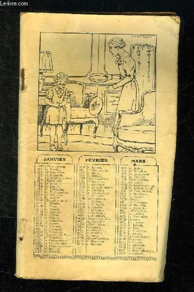 ALMANACH DE LISETTE 1939.