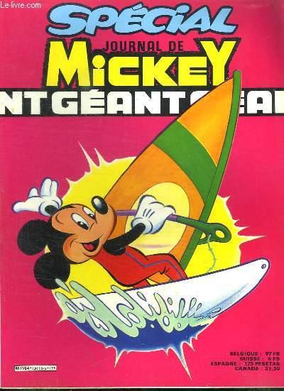 SPECIAL JOURNAL DE MICKEY N° 1511 BIS.